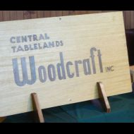 Woodies Sign