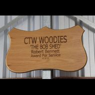The Bob Shed Sign