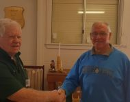 Mike Hardie (President) and John McMahon